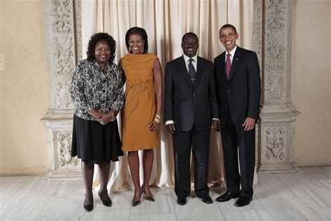 obama s raila odinga family www pixshark com images galleries with a bite