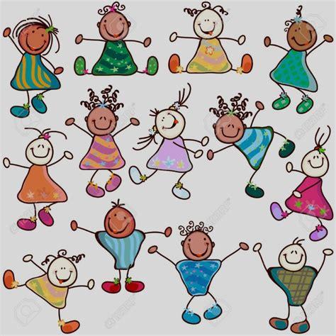 di bambini disegni di bambini stilizzati da colorare bambino