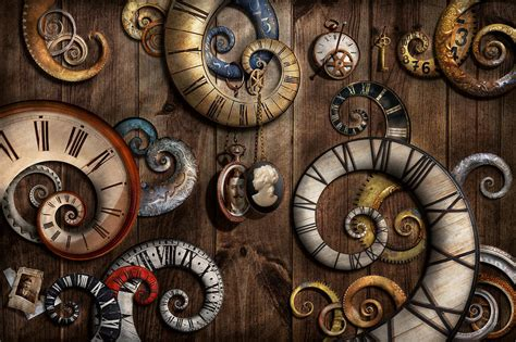 Duvet Cover Tutorial Steampunk Clock Time Machine Photograph By Mike Savad