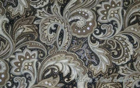 Popular Black Paisley Curtains Myideasbedroom Com