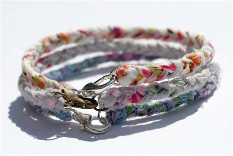 braided bracelets with items similar to braided fabric bracelet with lobster