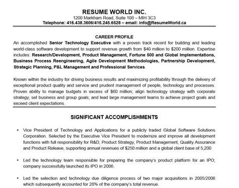free executive resume templates 2015 how to write executive resume
