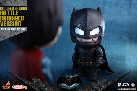 Cosbaby Armored Batman Matte Black From Hottoys toys expands batman v superman of justice cosbaby series 171 pop critica pop critica