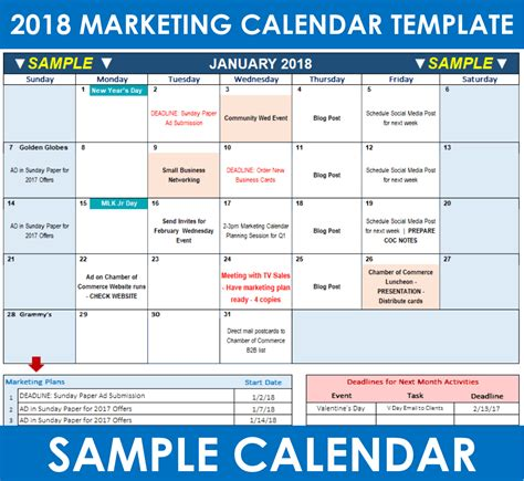 What Is A Marketing Calendar Resume Template Sle Social Content Calendar Template 2018