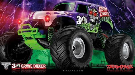 grave digger monster truck poster grave digger wallpapers wallpaper cave
