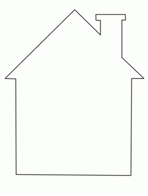 house shape coloring pages boutique magnolia outubro 2014