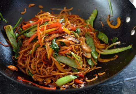 vegetables lo mein vegetable lo mein the woks of