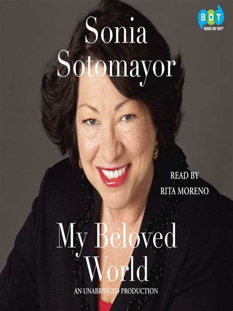 sonia sotomayor biography in spanish my beloved world merrimack valley library consortium