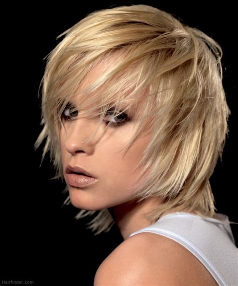 Razor Cut Hairstyles by Shag Hairstyle With Razor Cut Layering And Tousled Styling