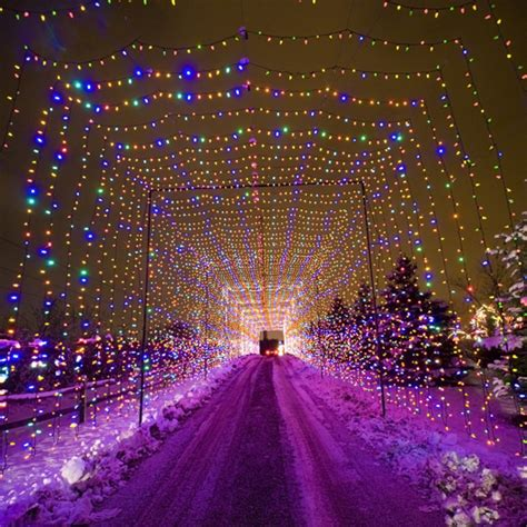 country christmas light display opens thanksgiving