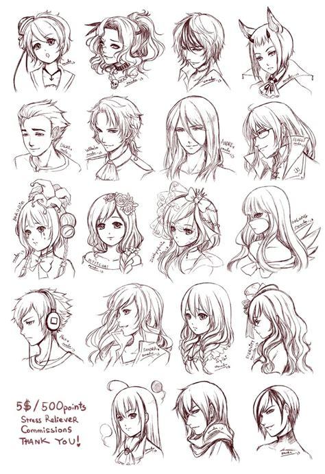 Anime Hairstyles Anime Hair Hats Bows Viel Clown Joker Hair Hair