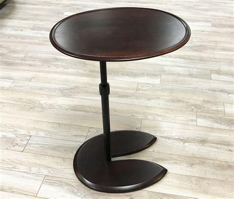 stressless tables for recliners stressless ellipse adjustable wood table for ekornes