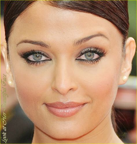 look at beautiful perceiving the eye color of