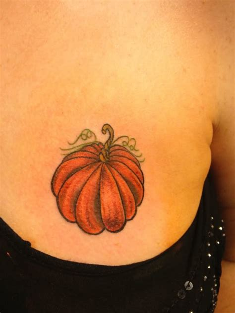 pumpkin tattoos 35 pumpkin tattoos