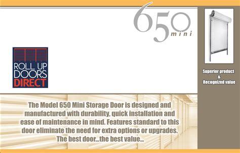 janus overhead doors roll up doors direct janus model 650 prices and details