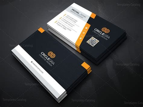 Design Template For Visiting Cards by Company Business Card Design Template 000162 Template