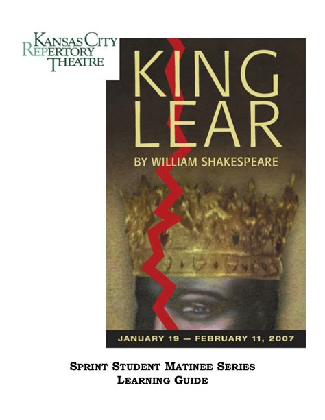 king lear themes slideshare king lear learning guide