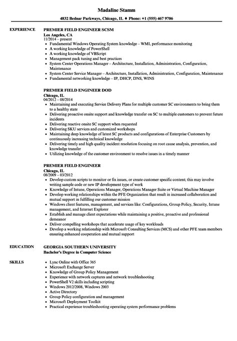 Microsoft Premier Field Engineer Sle Resume by Best Microsoft Premier Field Engineer Cover Letter Contemporary Coloring 2018 Cargotrailer Us