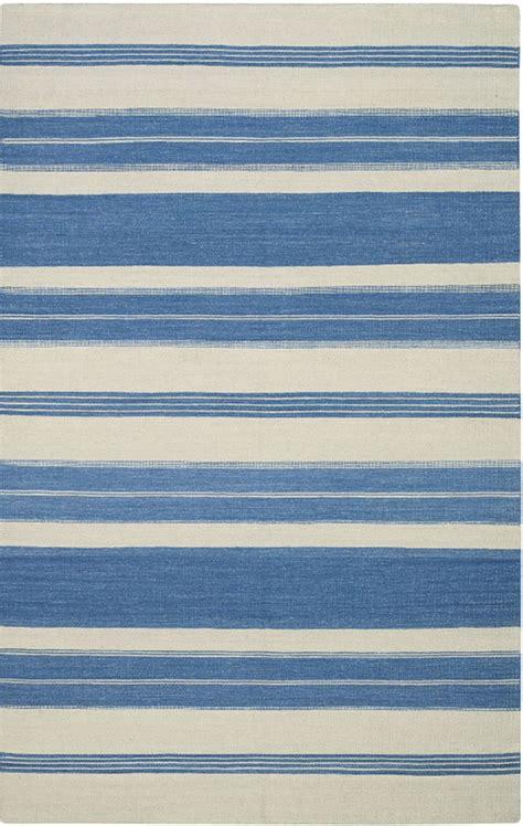 capel jagges stripe 3624 425 blue rug