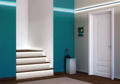 beleuchtung für küche design treppe licht