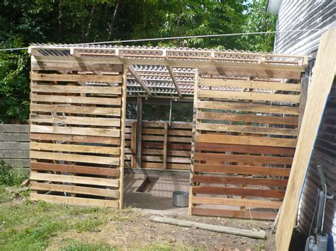 Pallet Shed Roof