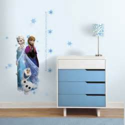 grow with frozen growth chart wall decals