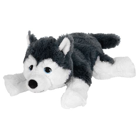 ikea dog livlig soft toy dog siberian husky 26 cm ikea