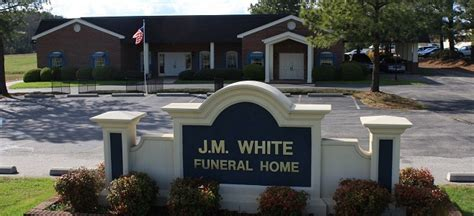 welcome to j m white funeral services