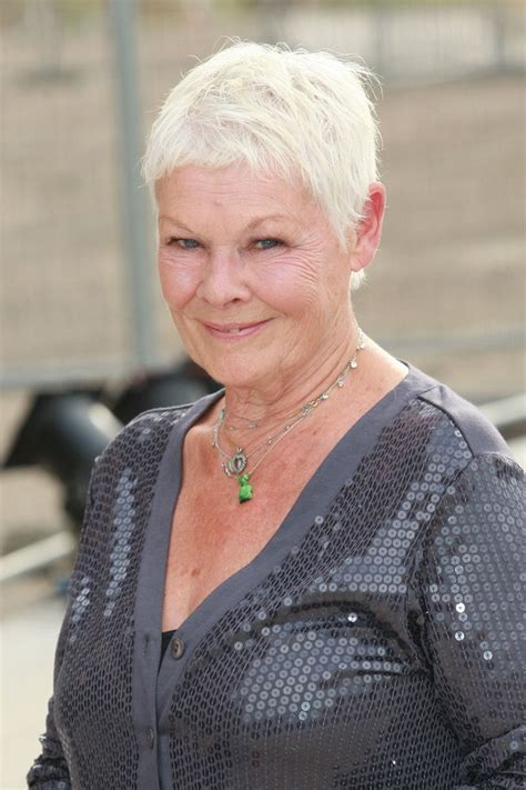 how to cut judi dench hair 148 best judi dench images on pinterest judi dench hair