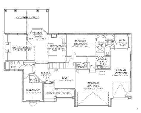 the 28 best rambler house plans with walkout basement