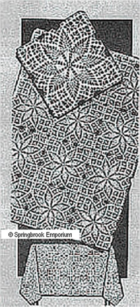 Square Instan Motif 01 pineapple square motif tablecloth crochet pattern