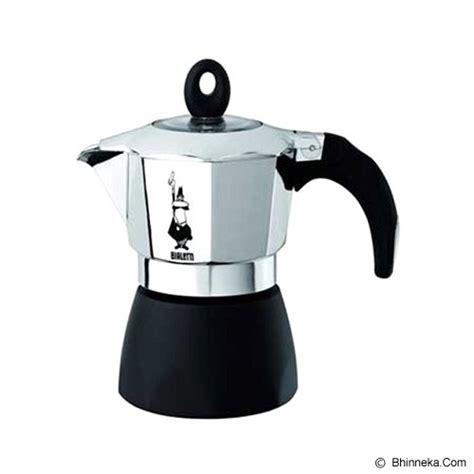 Bbf Percolator Coffee Teko Kopi Moka Pot Alumunium 3 Cup Black jual bialetti dama gran gala 3 cup murah bhinneka