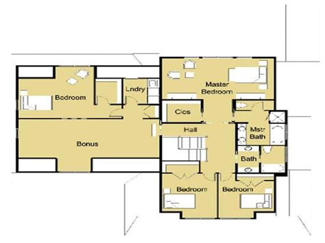 plans house open small house plans modern modern house design floor
