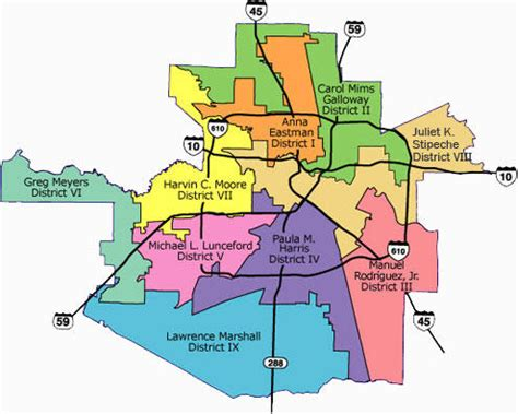 houston map by school district hisd board incumbents file to run again k 12 zone