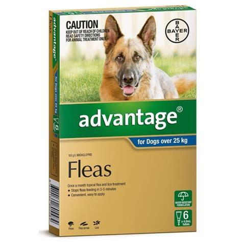 advantage flea control  dogs dogs  kg