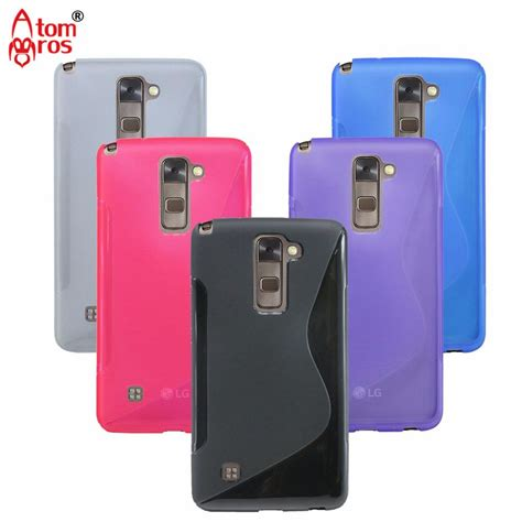 Silicon Casing Softcase Rainbow Lg Stylus 2 soft tpu silicone rubber clear transparent cover for lg stylus 2 g stylo 2 k520 ls775