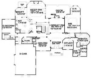 5 Bedroom House Floor Plans luxury 5 bedroom house plan 13438by 1st floor master