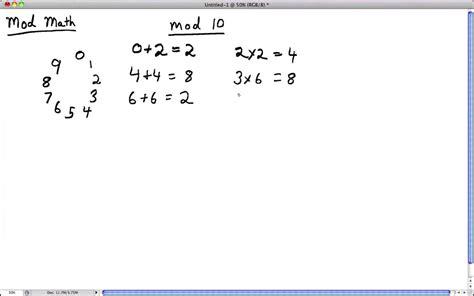 calculator modulo lecture on modulo arithmetic part 1 youtube