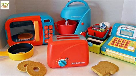 toy kitchen appliances toy toaster kitchen appliances toy food play doh just
