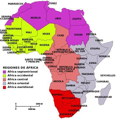 6 regions of africa map world economic development and international cooperation