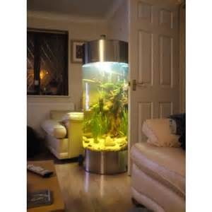 Fish Tank Coffee Table For Sale - stainless steel acrylic column cylinder aquarium fish tank all pond solutions