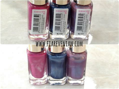 Kutek Loreal review l oreal color riche nail in 217 630 and