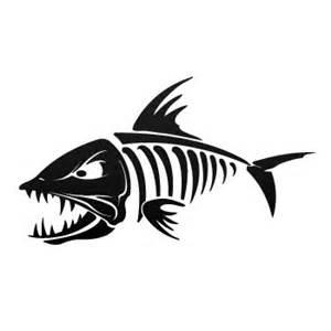 fish skeleton art clipart best