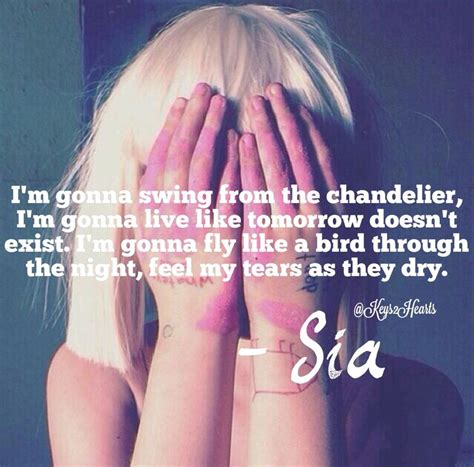 Lyrics Sia Chandelier Artist Sia Song Chandelier Lyrics Lyrics Search And By