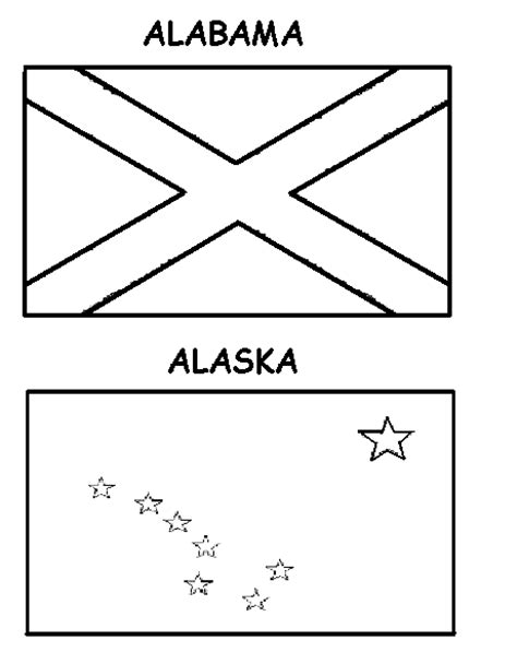 printable us state flags to color free coloring pages state flags freecoloring4u com
