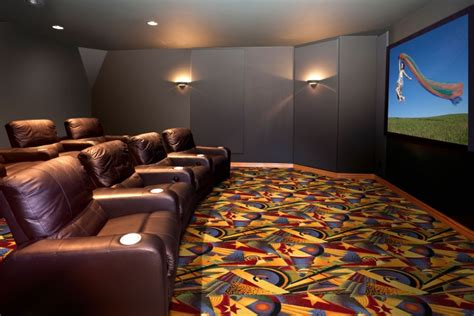 sunset home theater carpet