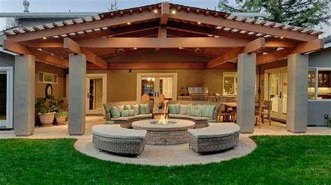 Easy Home Design Ideas by Covered Porch Furniture Outdoor Covered Patio Design