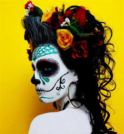halloween hairstyles day of the dead 17 best images about day of the dead on pinterest