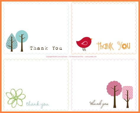 Thank You Letter Card Template 8 thank you note templates marital settlements information