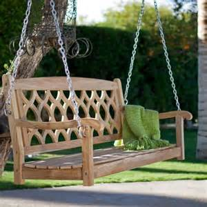wooden patio swing wooden porch swing ideas swings